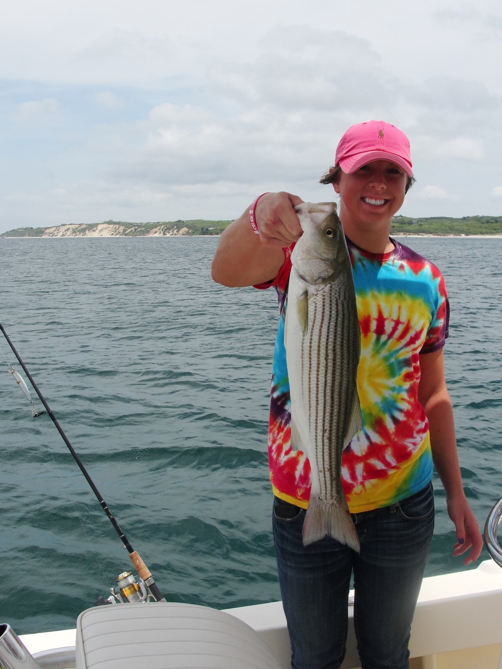 Fishing off Martha's Vineyard