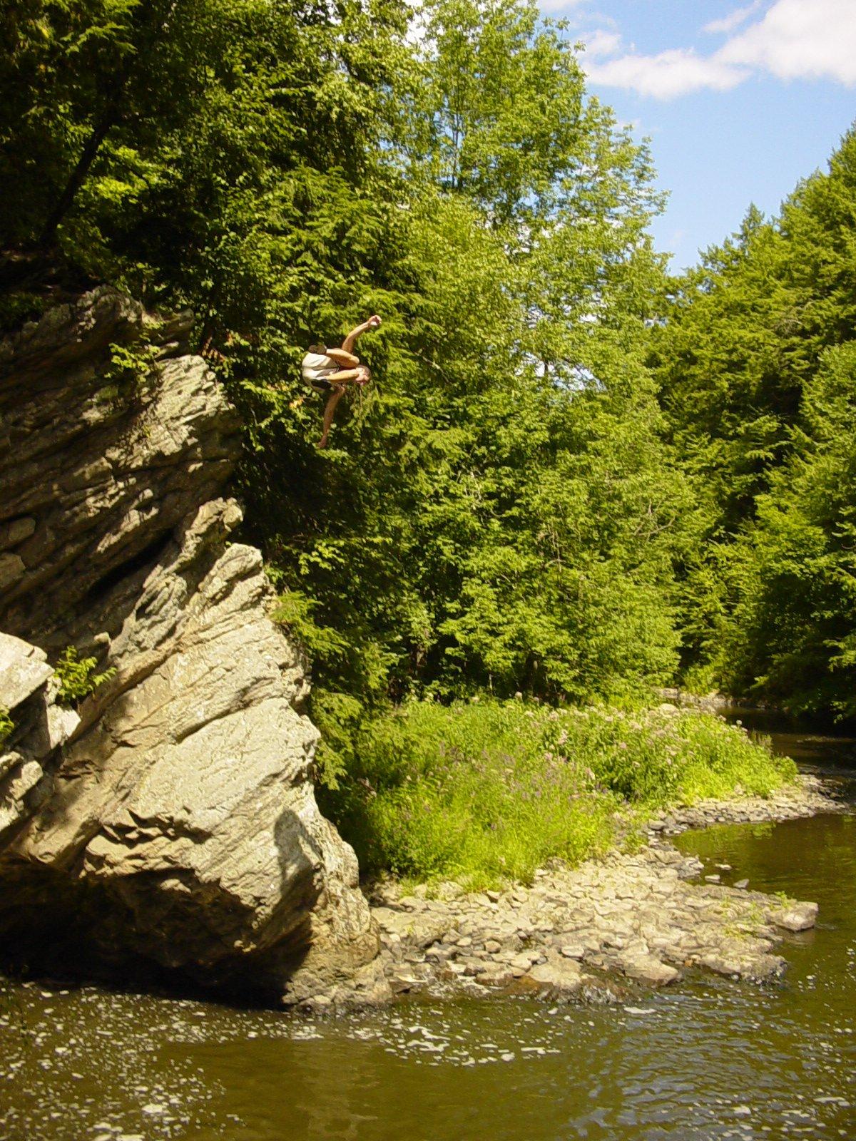 Cliff jump #2