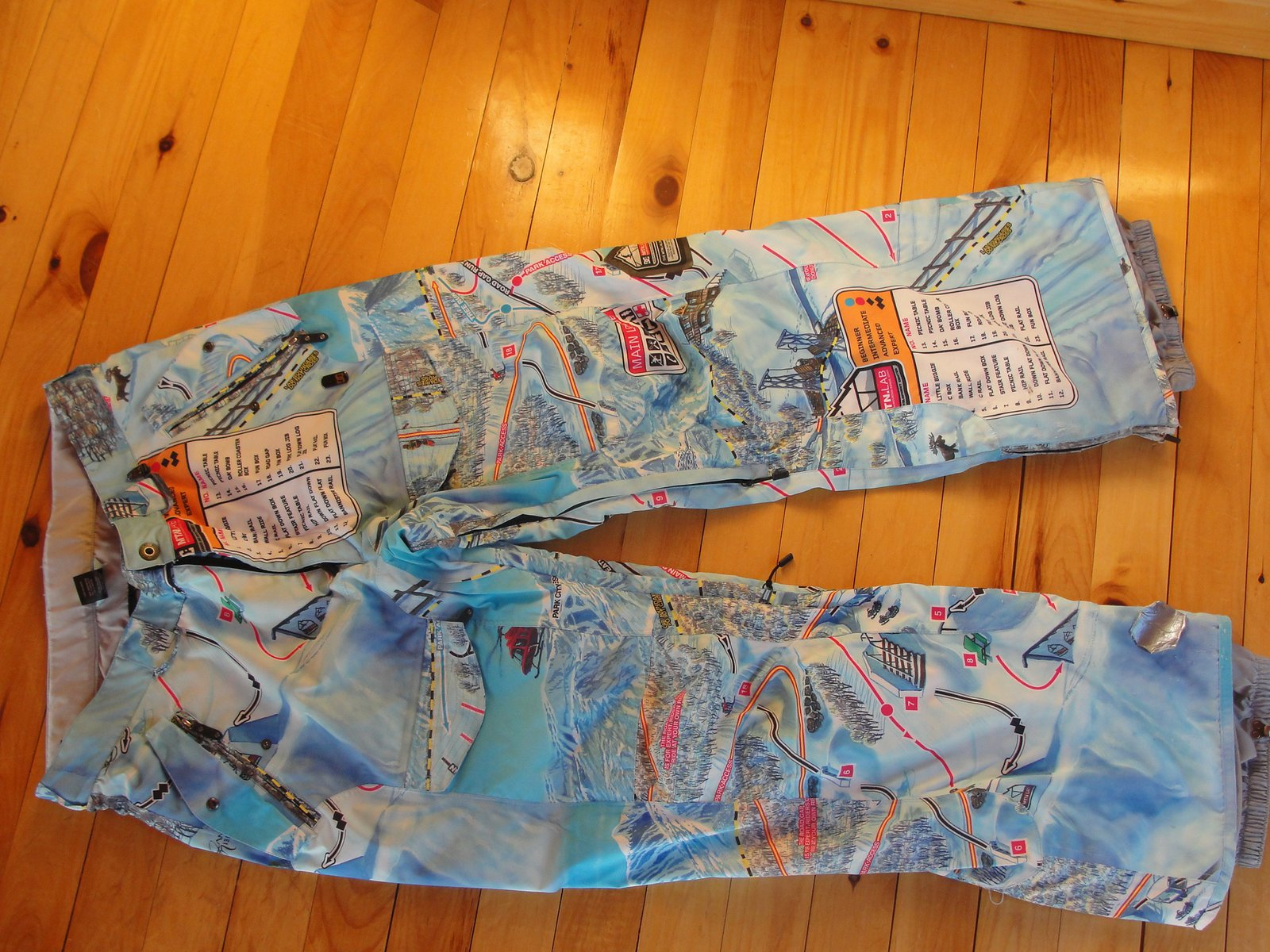 DC Map Pants For Sale.
