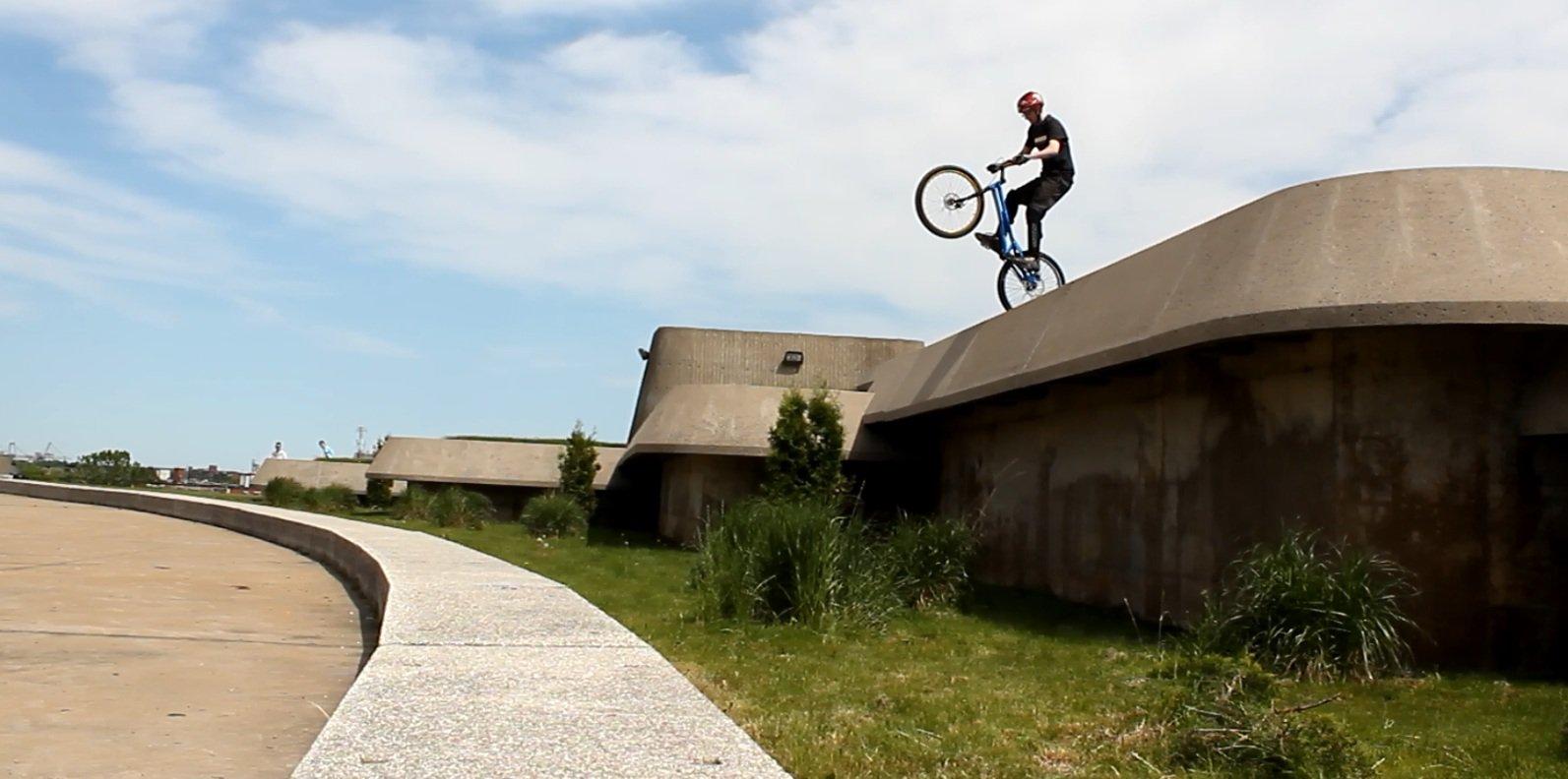 Huge Bike Drop