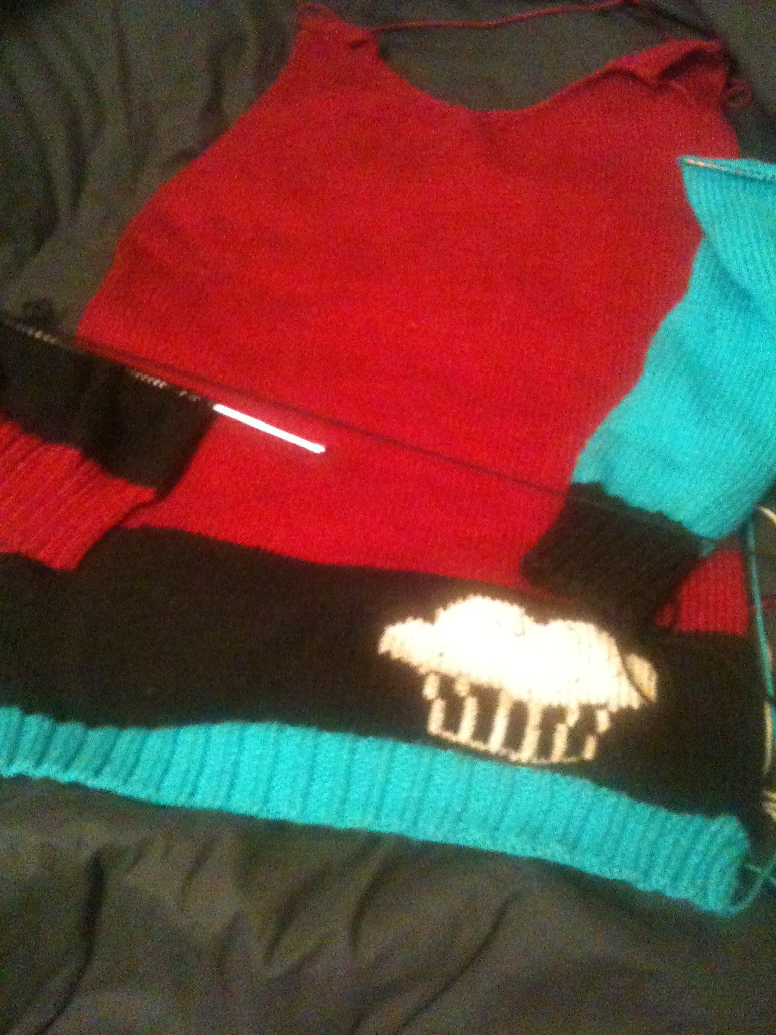 In progress knit-sweater