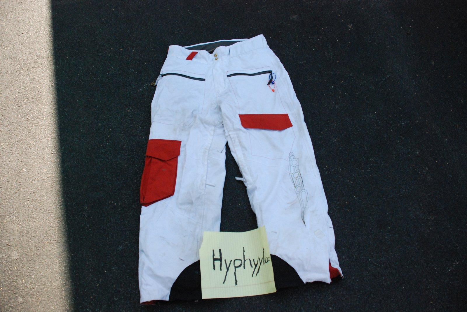 Pants front