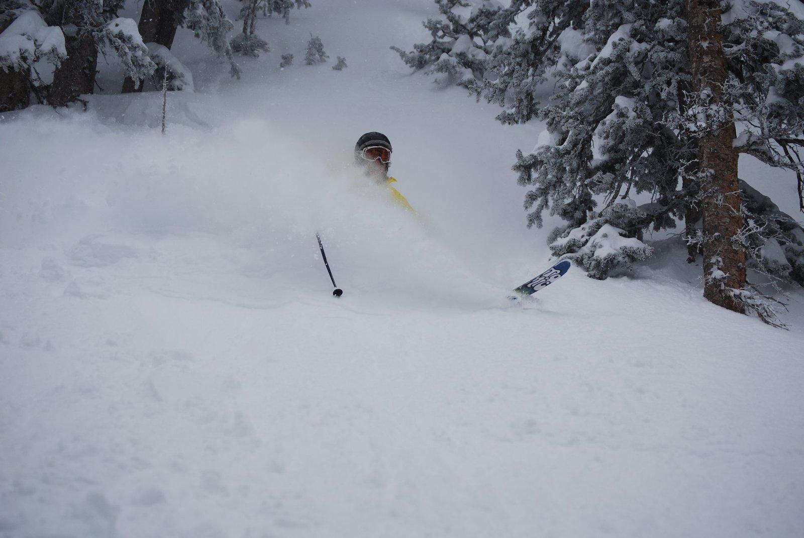 Las Vegas skiing
