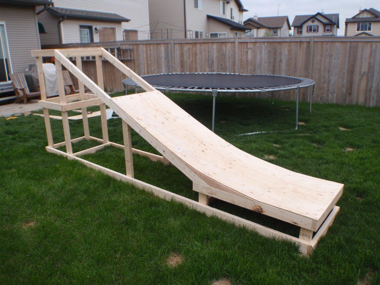 Semi-Built Summer Jib Ramp
