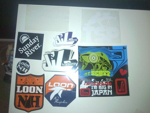 Updated stickerz