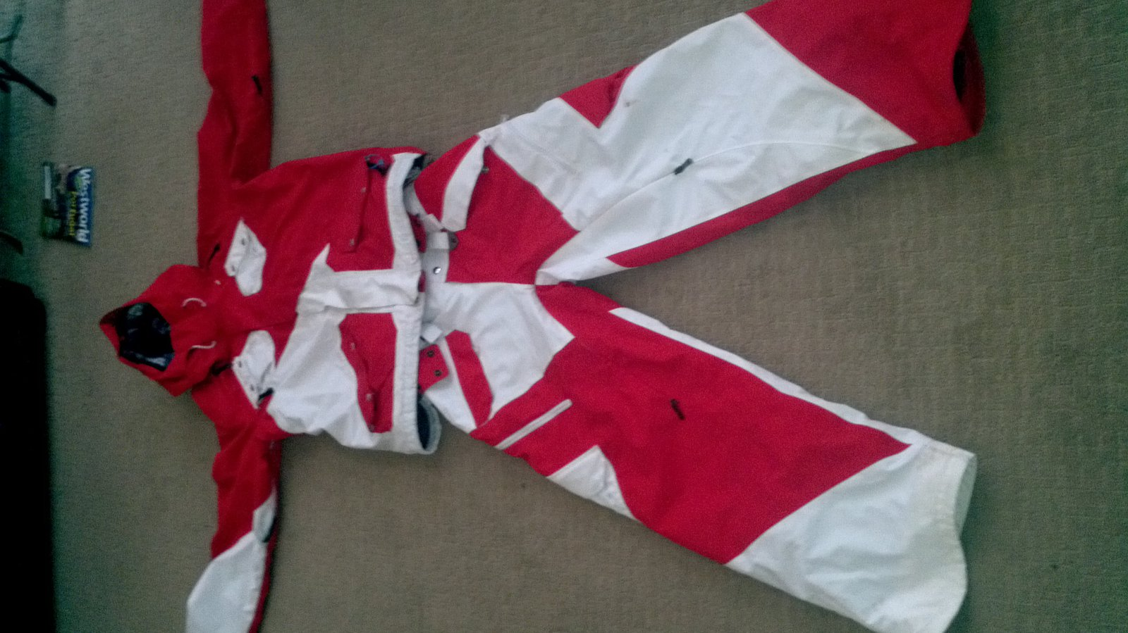 Full air raid suit