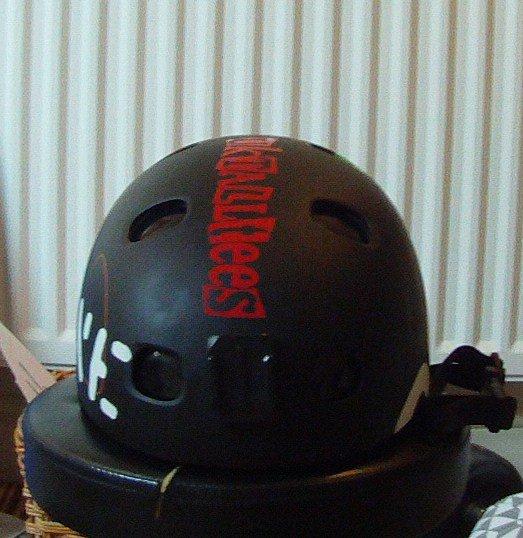 Helmet for trade