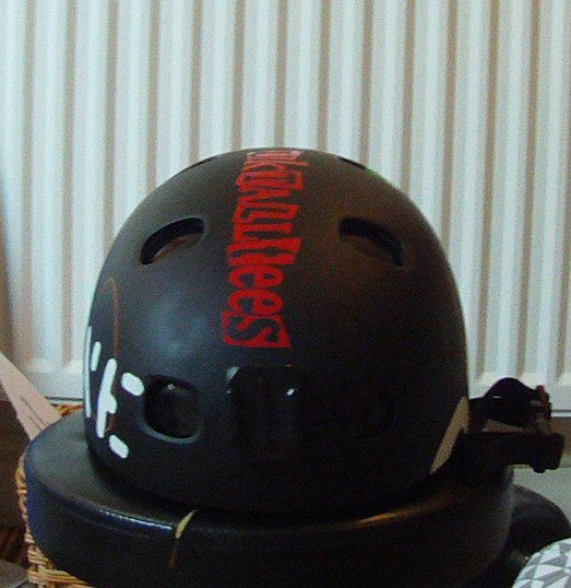 Helmet for trade