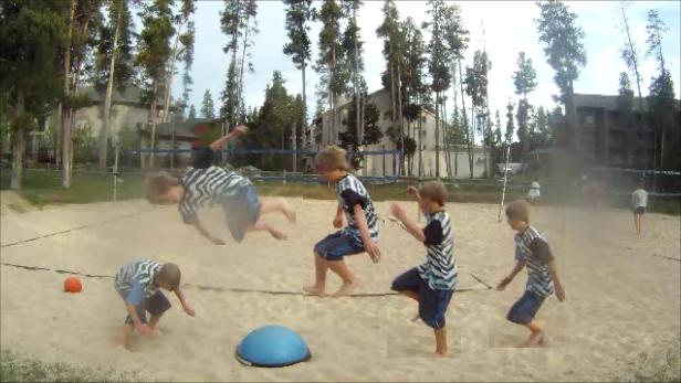 Sandball sequence