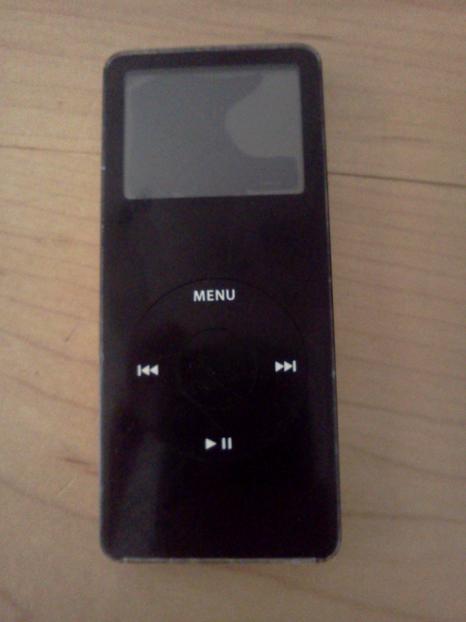 Ipod nano, broken screen