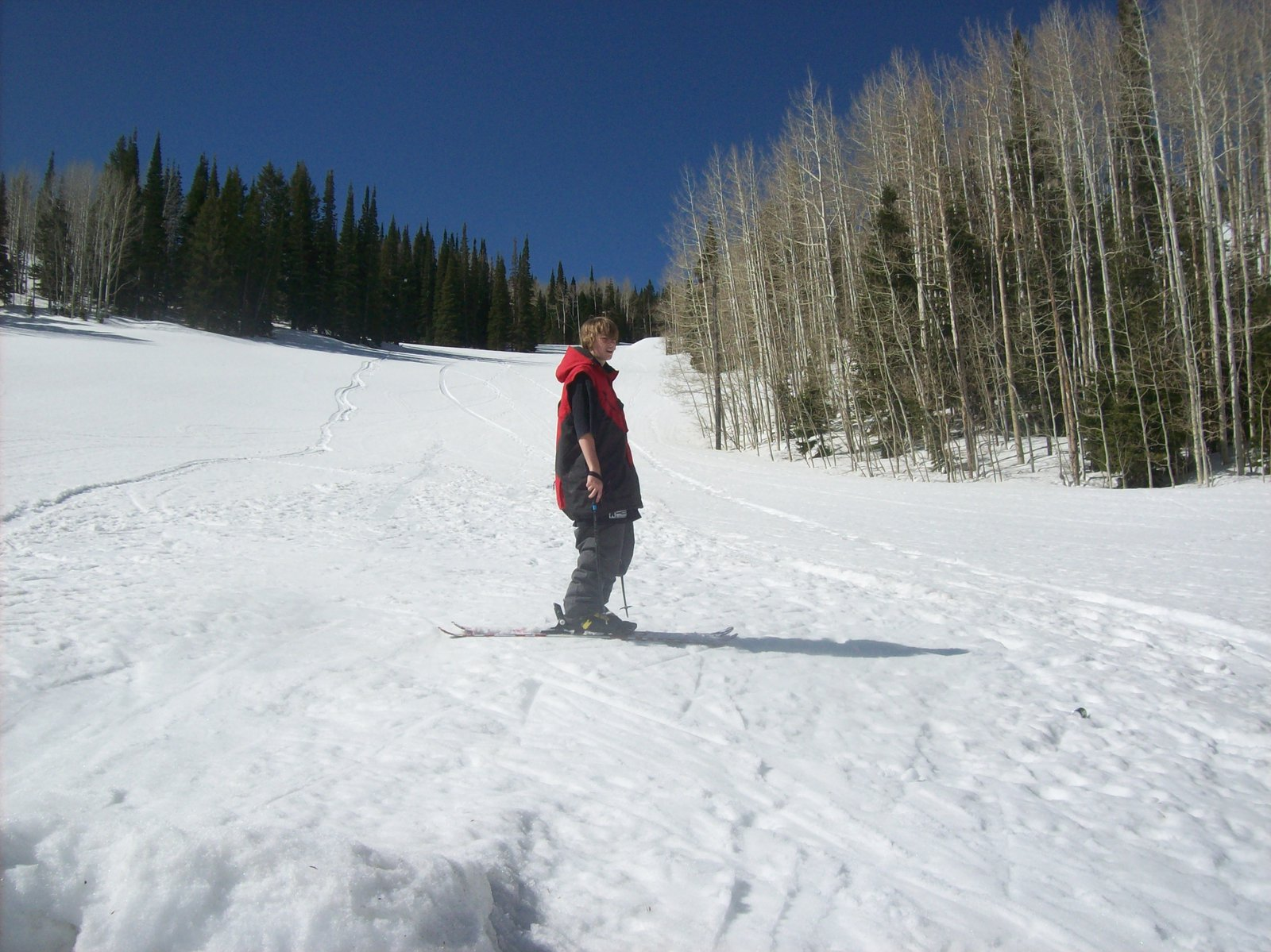 June skiing