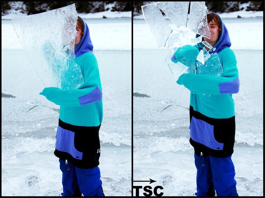 Smashing Ice