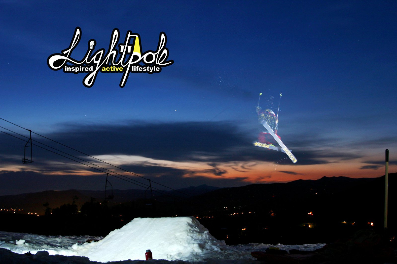 Lightpole Photoshoot