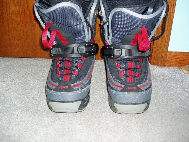 Ski step in boot size 11