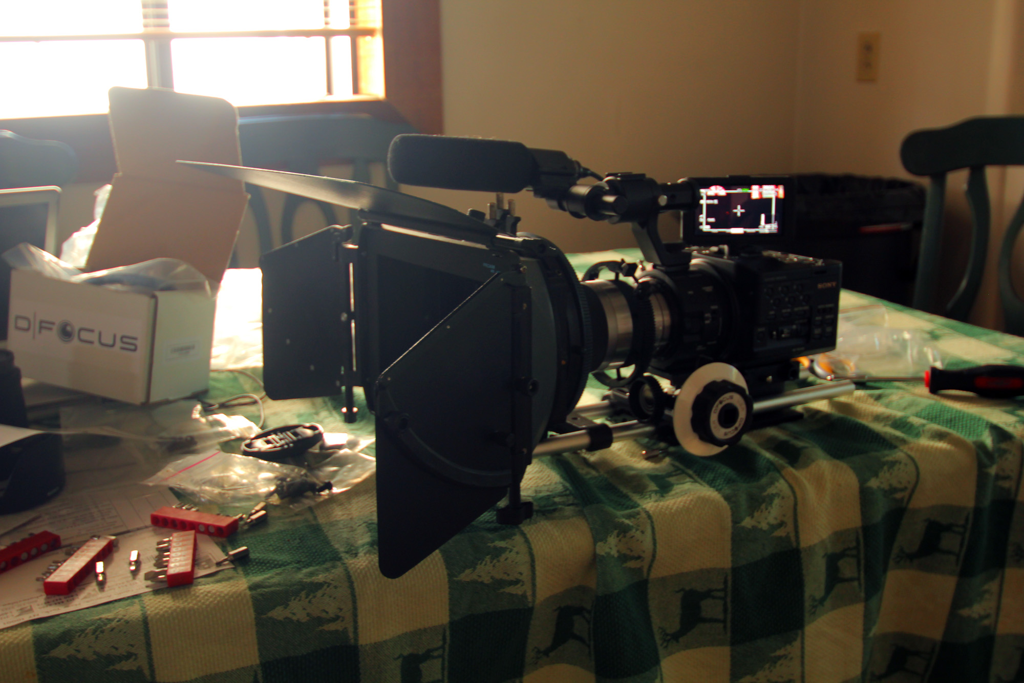 FS100 Set up almost complete!...