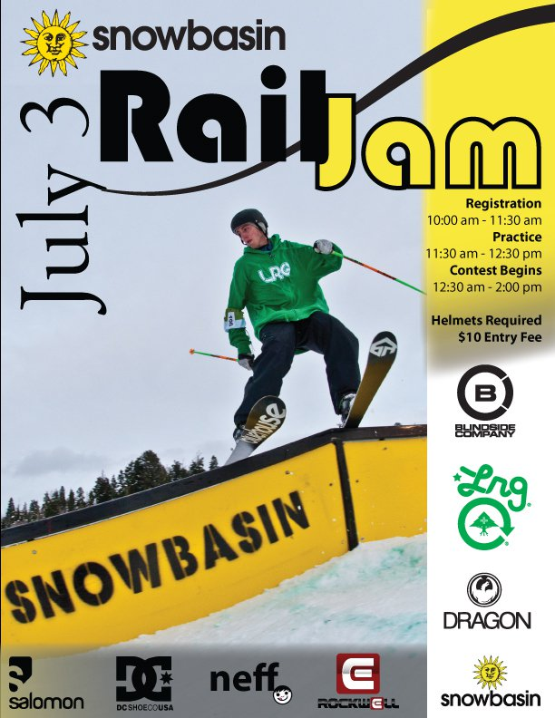 Snowbasin Rail Jam July 3
