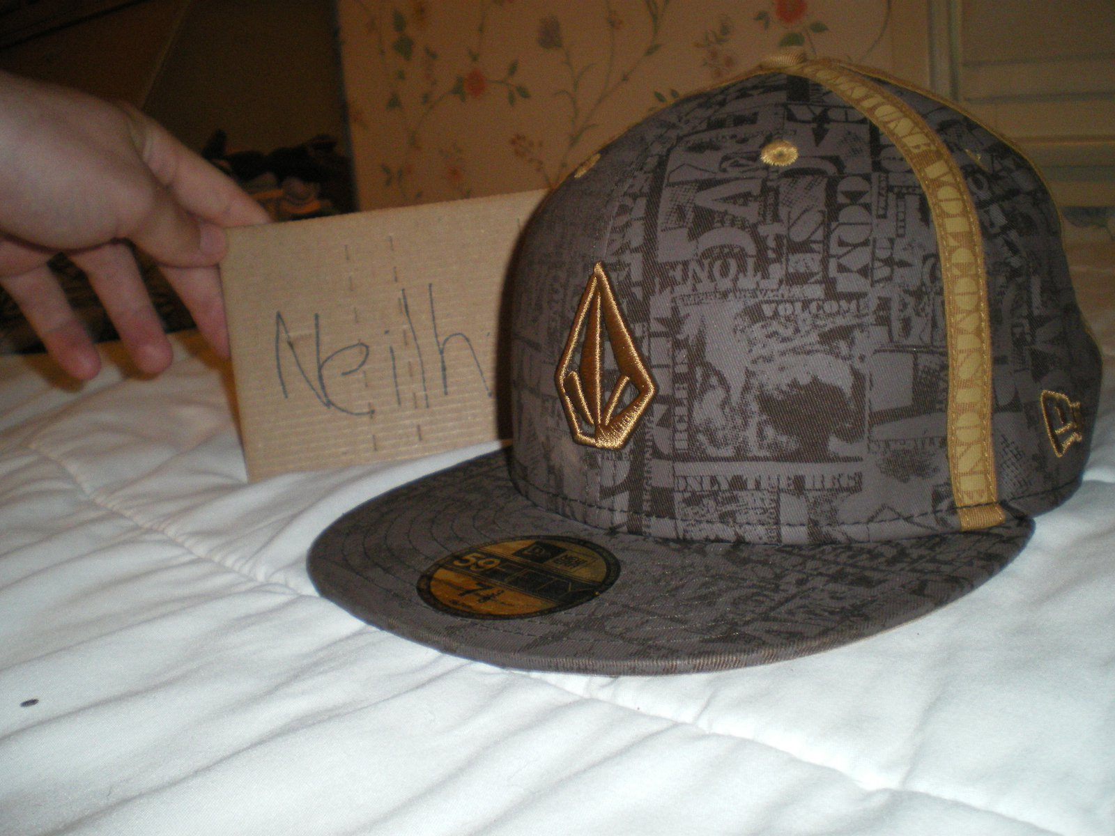 Volcom Fitted sz 7 3/8