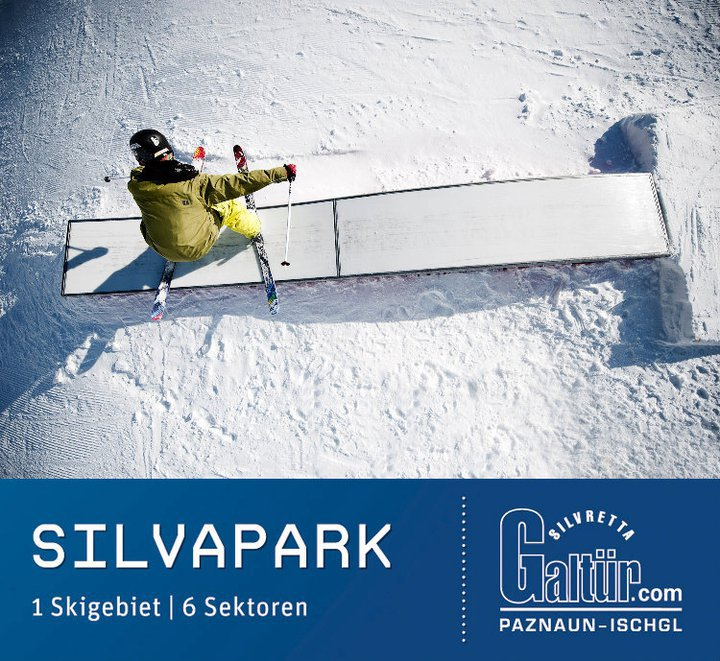 Catalog front picture of an austrian skiarea