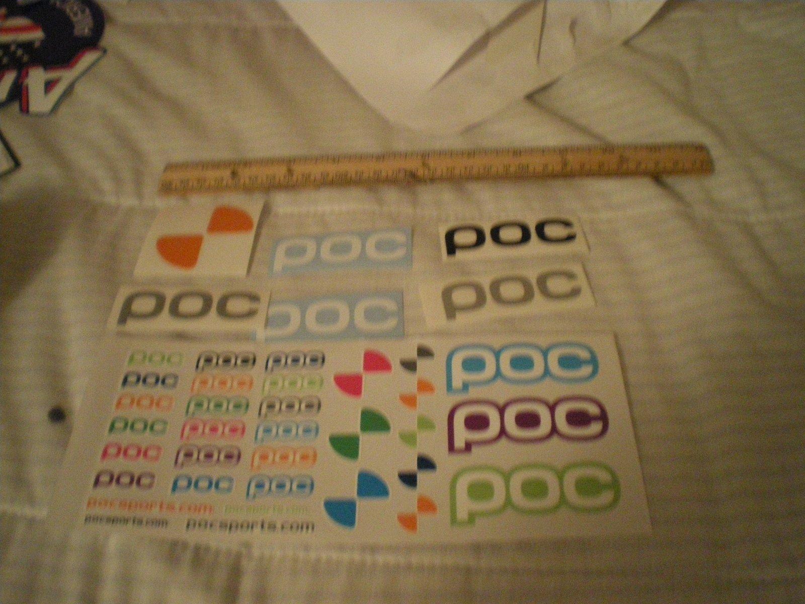 Poc stickers