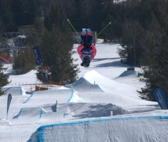 Canadian series- Front flip