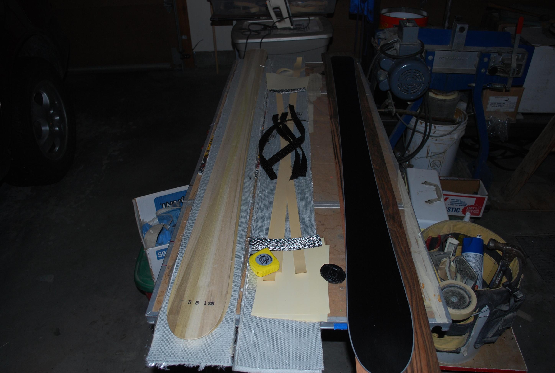 Makin skis