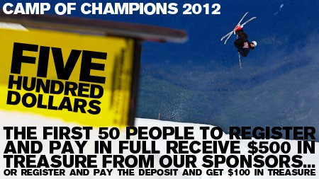 The First 50 To Register For 2012 Get $500 In Sponsor Treasure