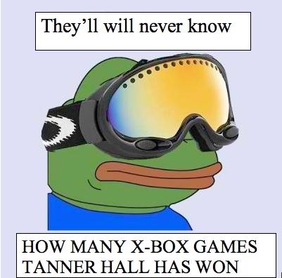 Tanner Hall Sad Frog