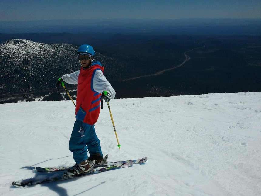 Me at Mt. Bachelor!!!