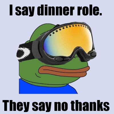Dinner role