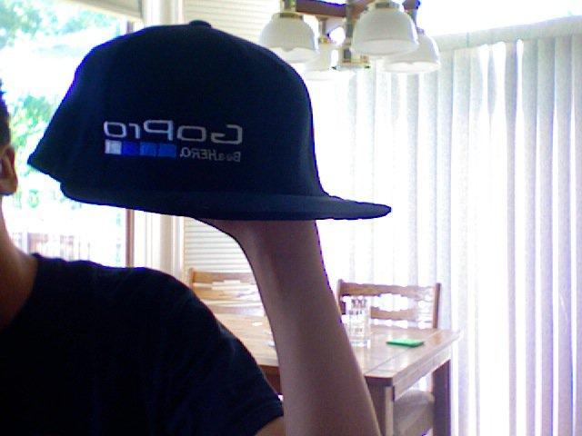 Gopro hat front