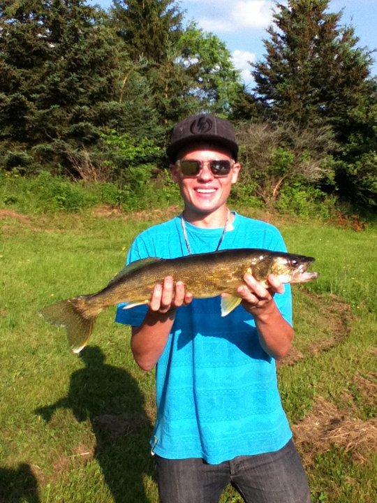 Walleye- Pond Monster