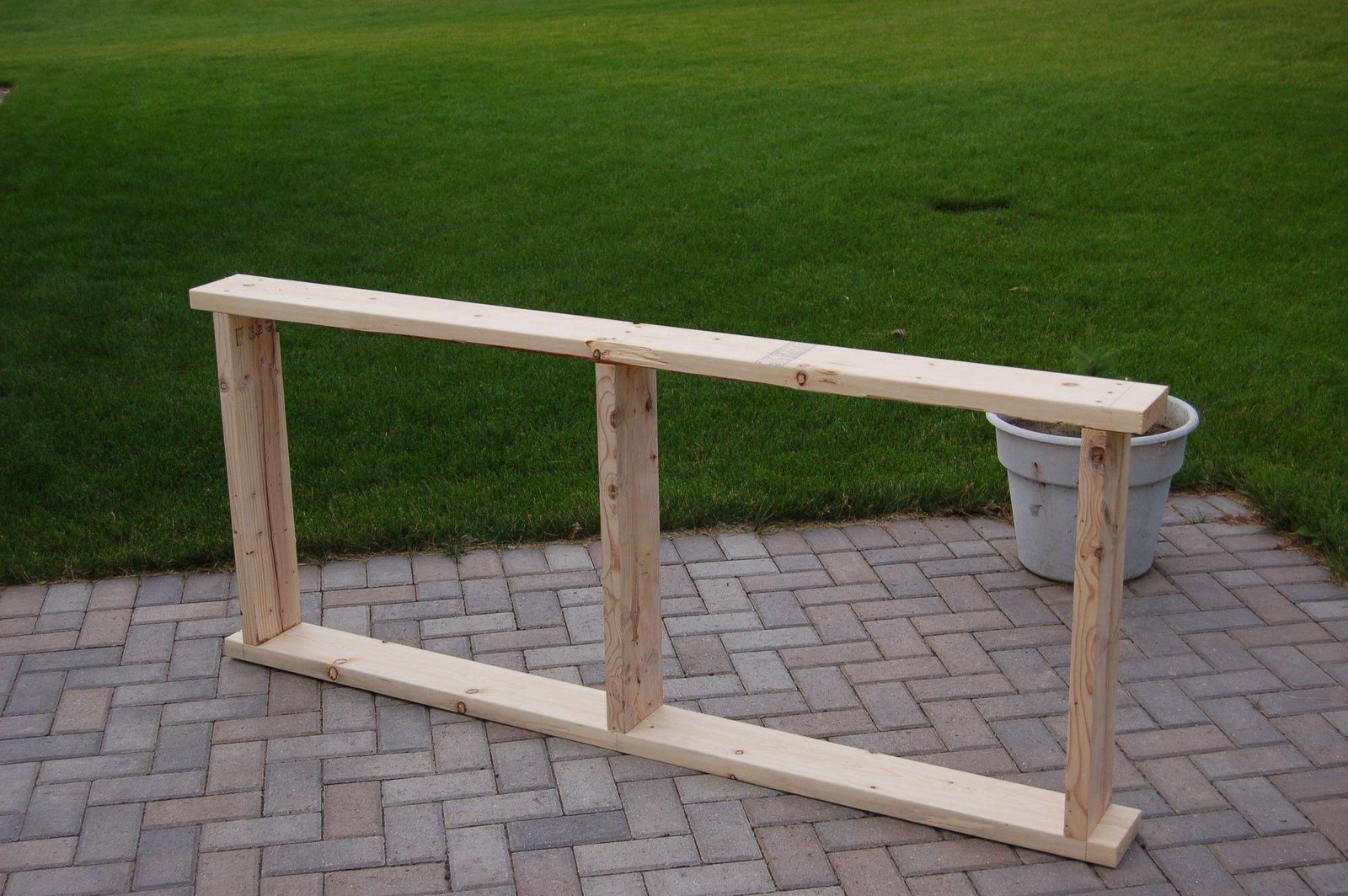 Rail frame