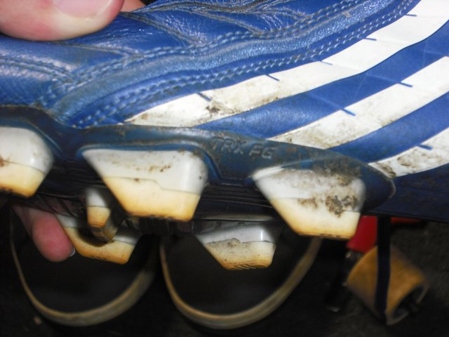 Side of cleats
