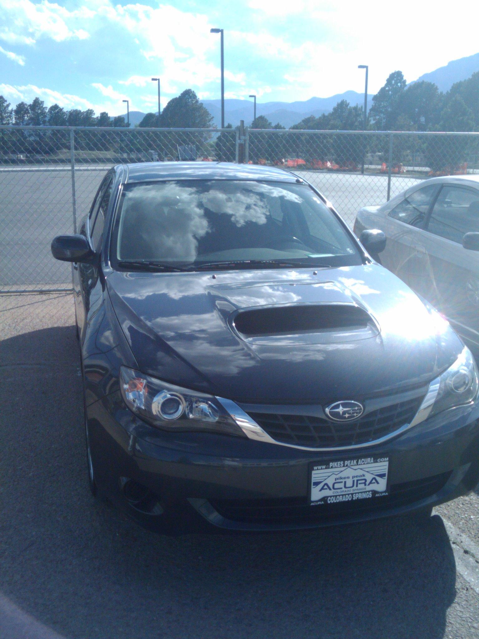 My little new car