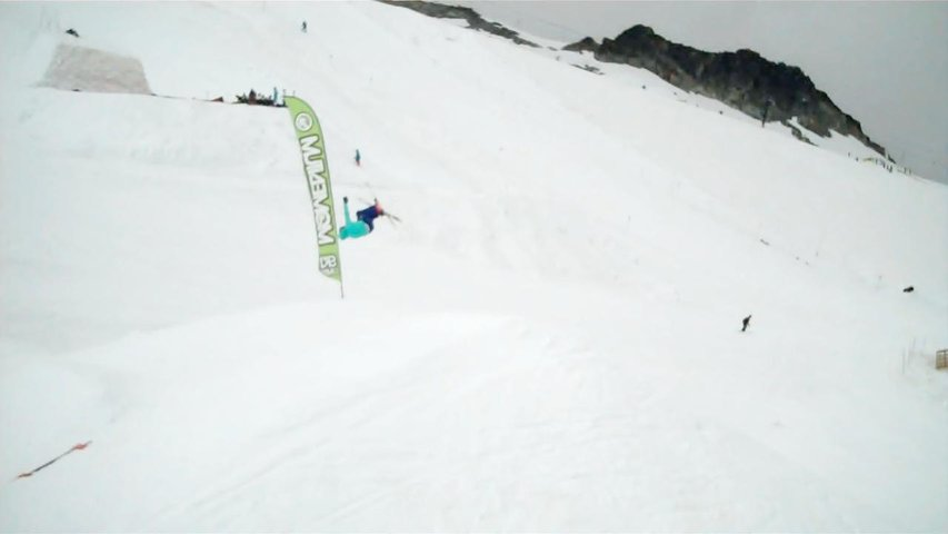 Misty 5 - first one on snow
