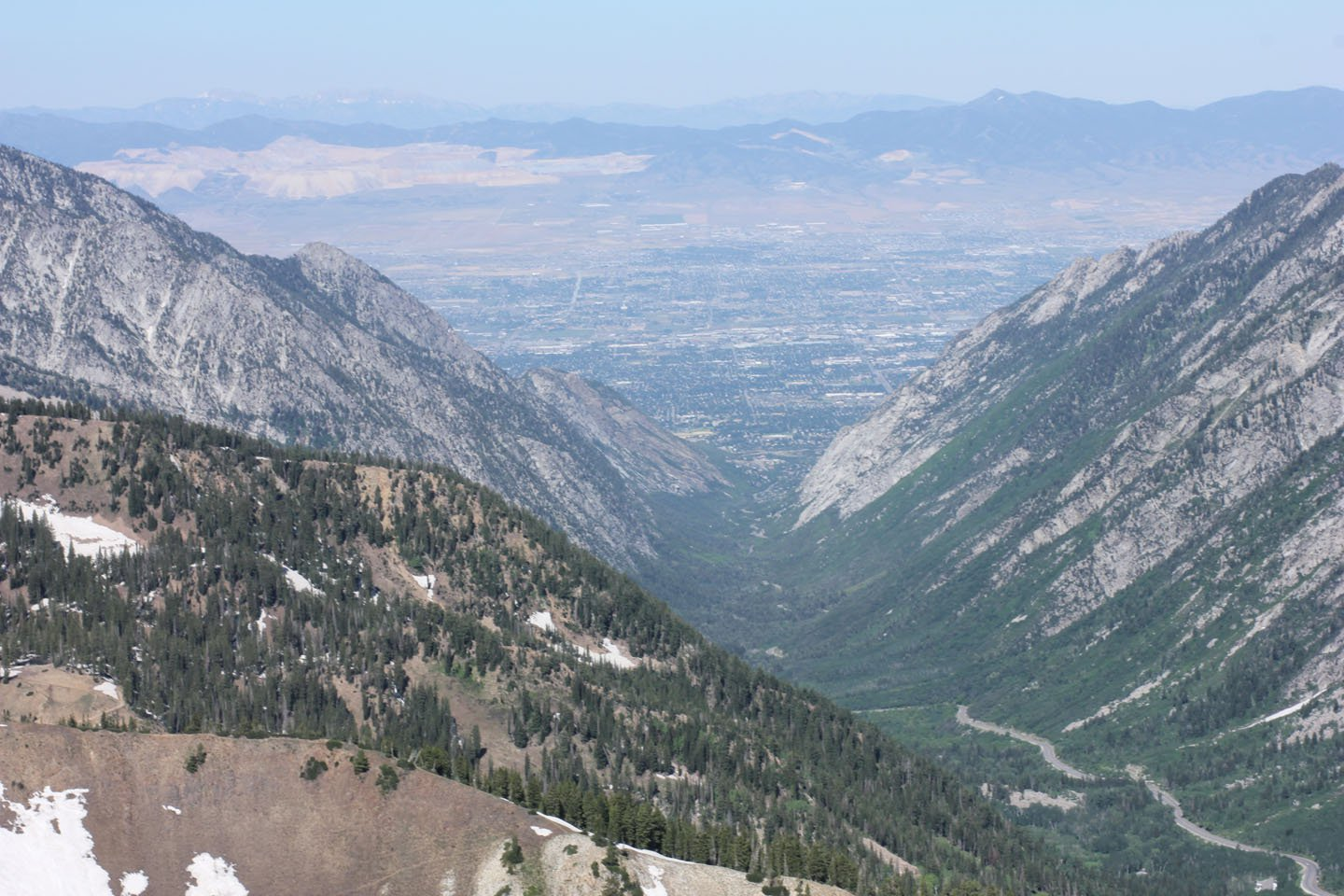 The valley from the top of Baldy