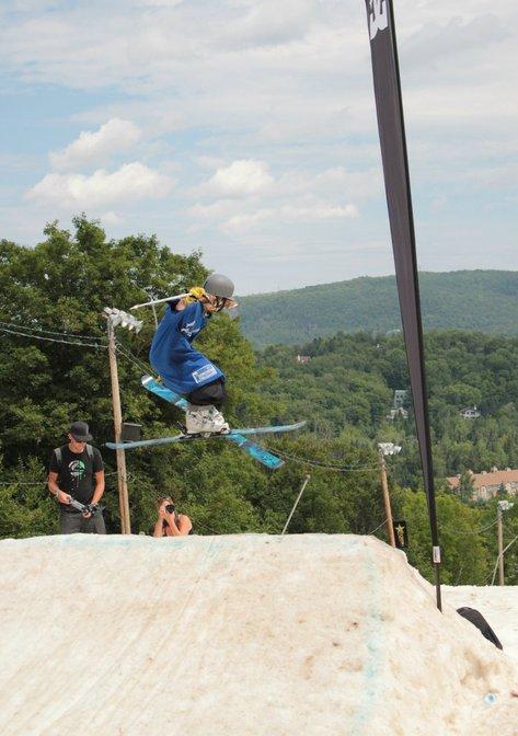 Sur le saut