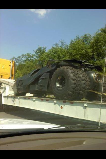 Batmobile in pittsburgh