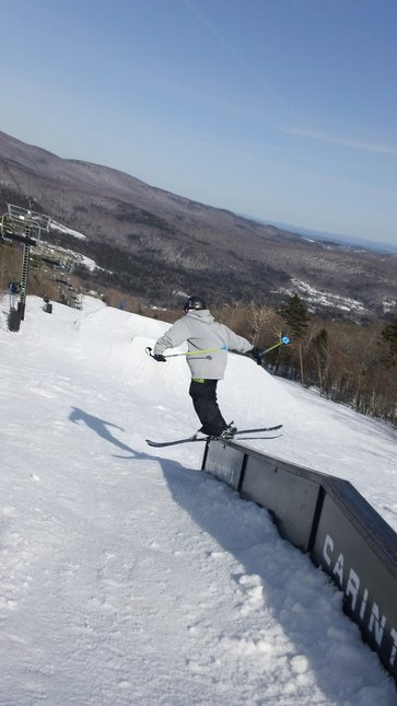 Skiing in vermont