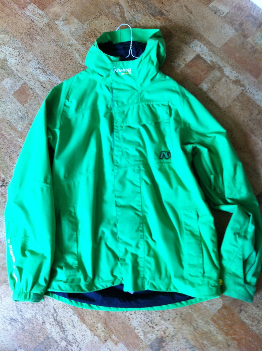 Analog green jacket
