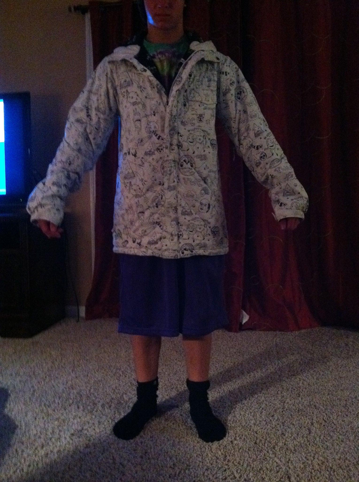 Sean white jacket