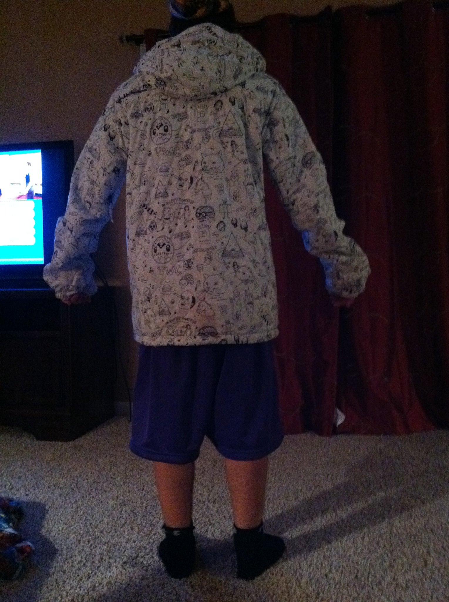 Back jacket