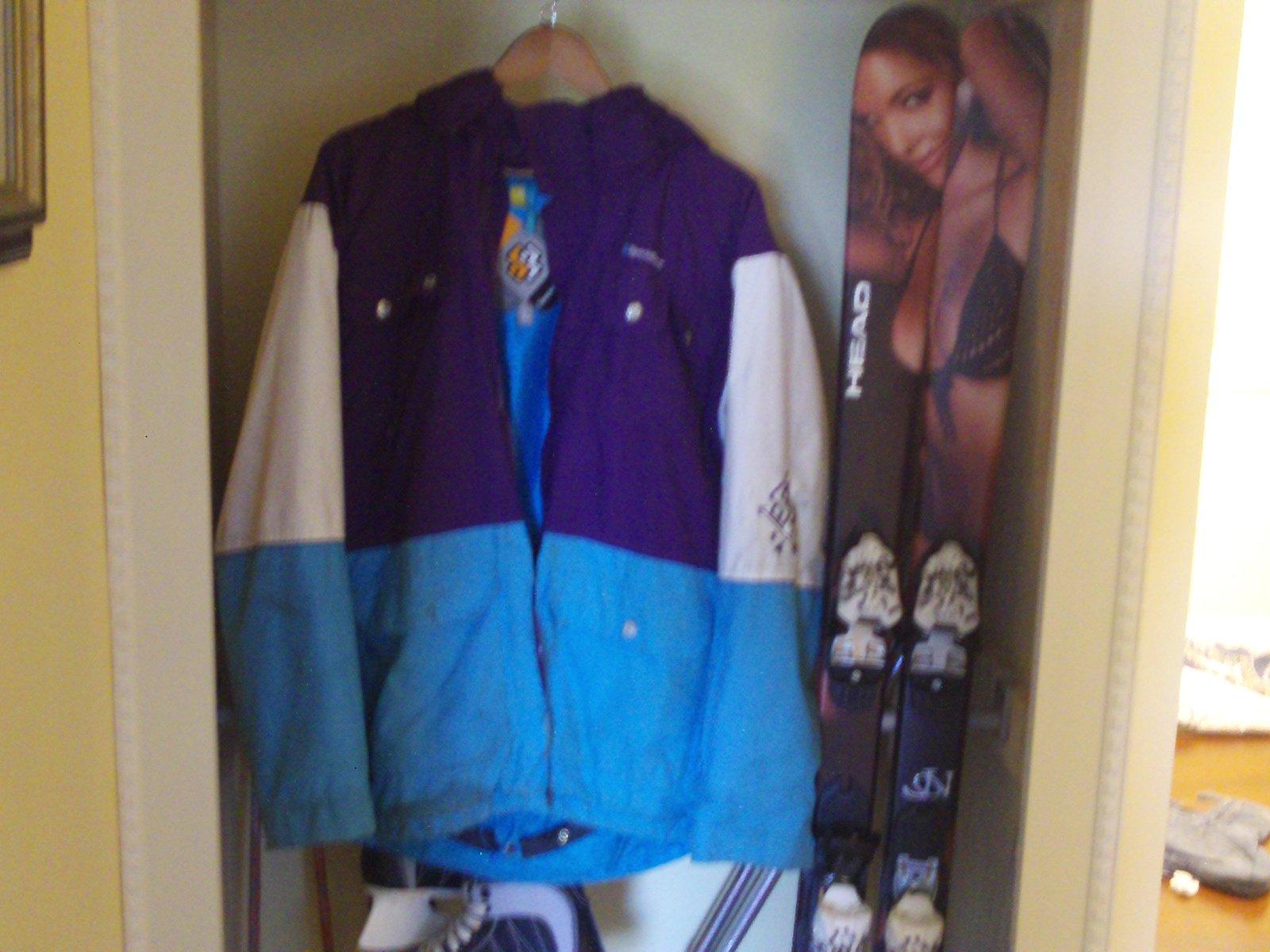 FS beat up SB coat size large