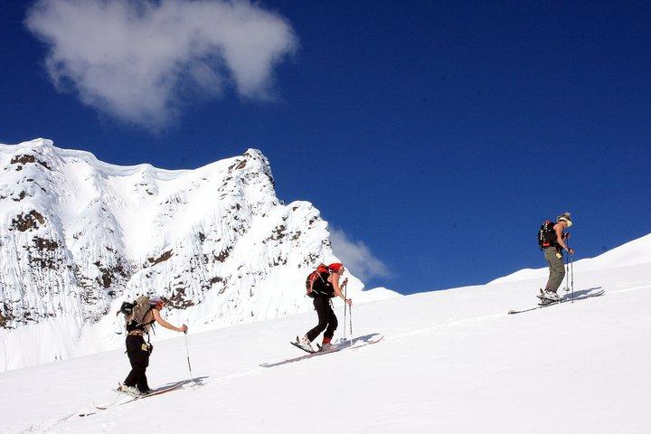 We like to tour, but love to Ski