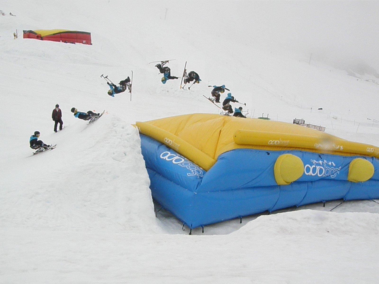 Sit Skier Backflip