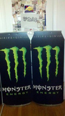 Giant Monster Cans