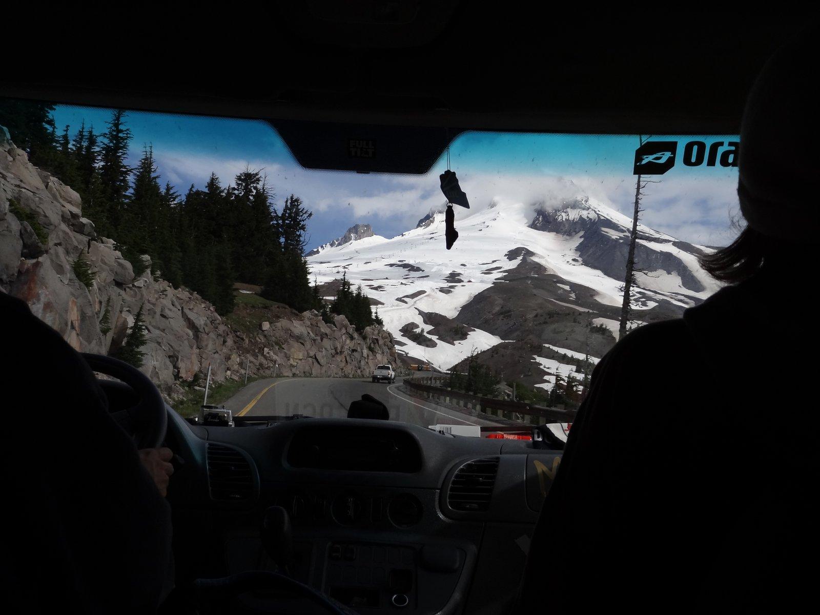On the Way to hood