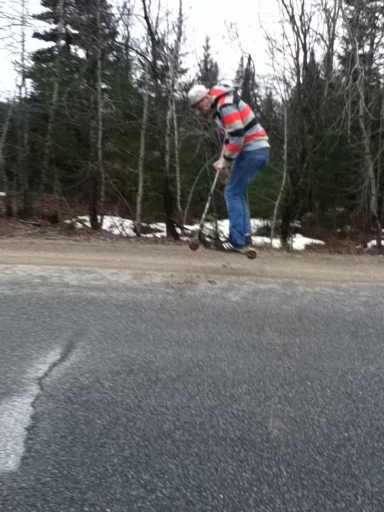FUCKING GRAVITY WITH A SCOOTERRR