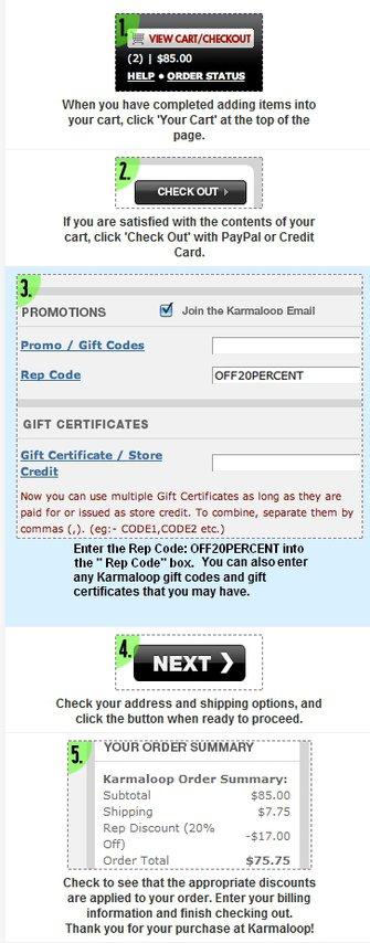 Karmaloop Rep Codes: OFF20PERCENT