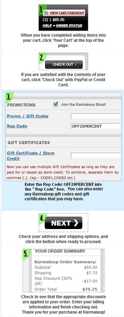 Karmaloop Rep Codes: OFF20PERCENT